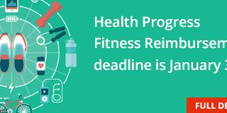 News Tile for a Fitness Reimbursement program for corporate employees