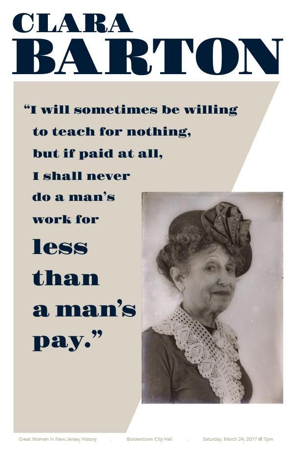 Poster of Clara Barton