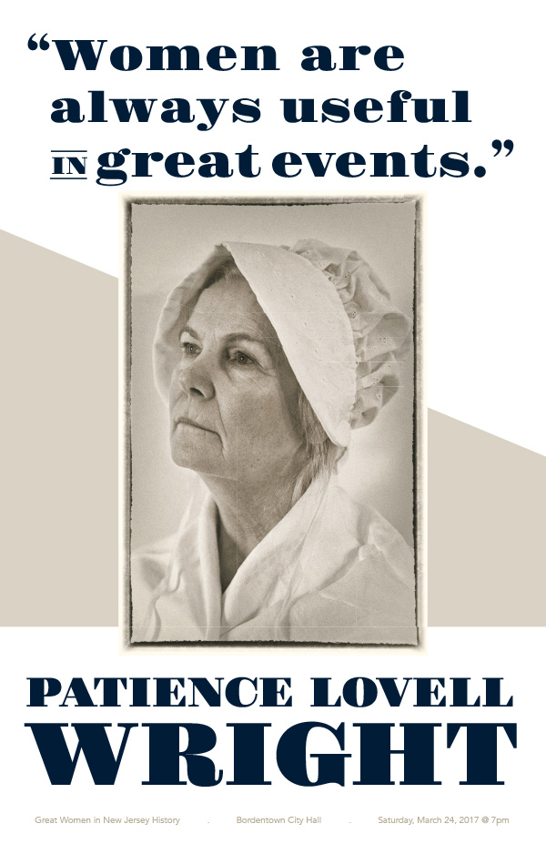 Poster for Patience Lovell Wright